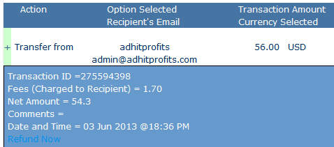 adhitprofits instant withdraw