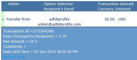 adhitprofits instant withdraw